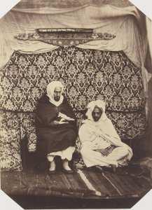 l`Emir Abd El Kader avec son frères à Annaba, 1856