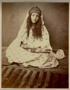 Une fille de Biskra, l'Algérie