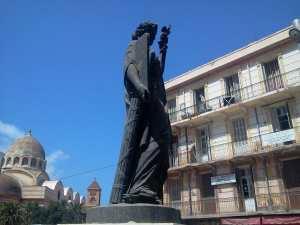 Oran : Statue de la Liberté, dite de la Loi, dite de la République