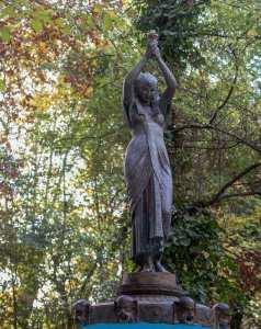 Le jardin public créé en 1890., (ex- jardin Magenta)