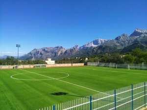Un #stade sur les hauteurs de Djurdjura