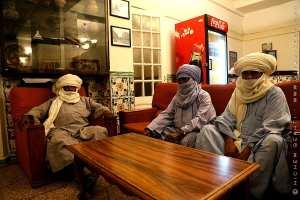 Notables touaregs rencontrés à Alger
