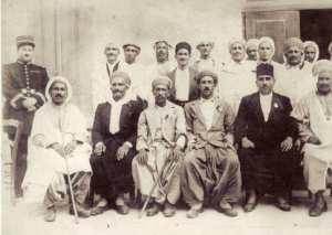 LES SAGES DE GHAZAOUET EN 1922 .