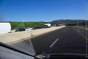Les bouchons de nos autoroutes ...