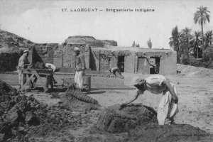 Une briquetterie à Laghouat