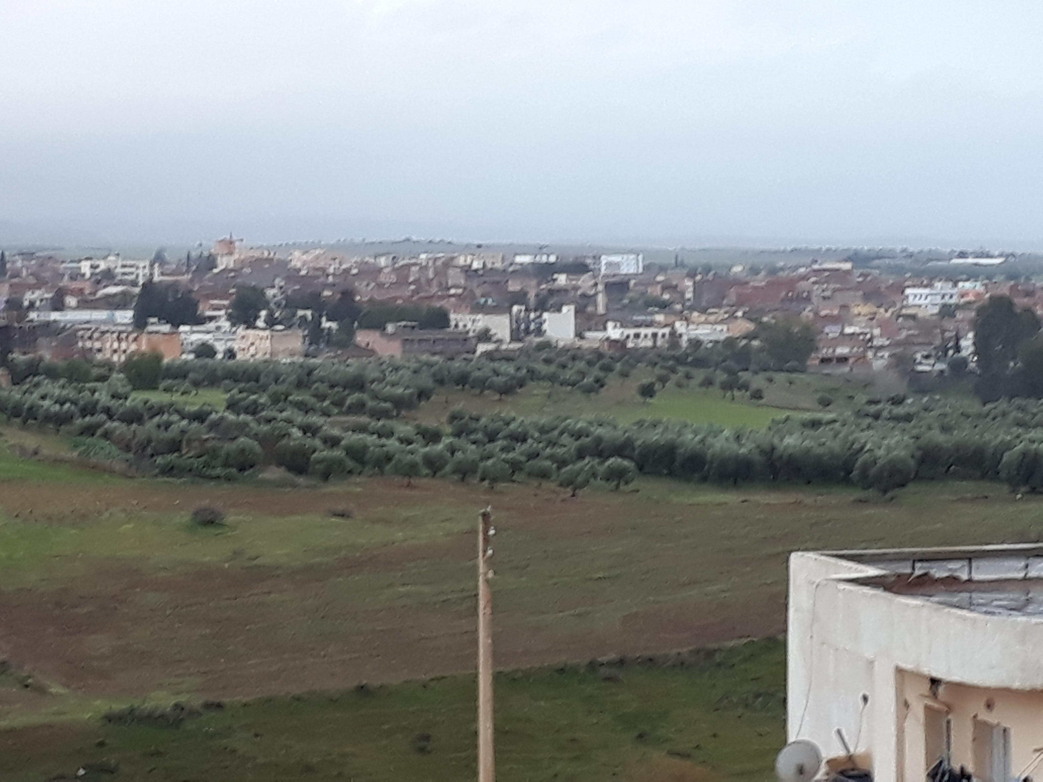 village vue du haut