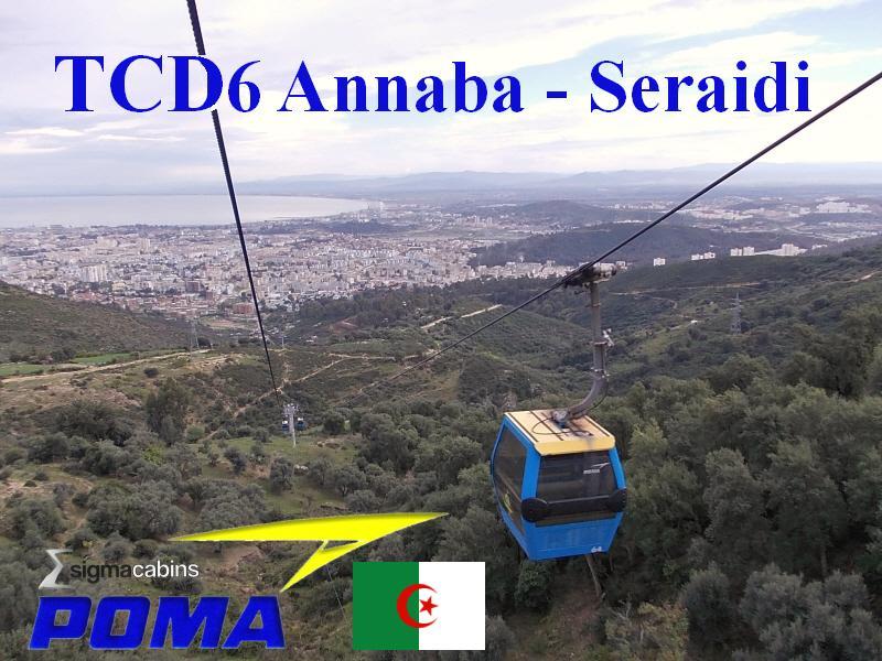 Annaba - Remise en service du téléphérique Annaba-Seraïdi