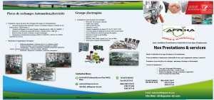 Vente ,Installation,et Maintenance des Equipements Industriels