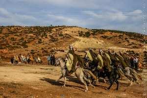 Fantasia - Waada à boujmil a 10 km de Tlemcen (novembre 2009)
