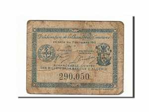 Algeria, Philippeville, 10 Centimes, 1915, 1915-10-07 dos