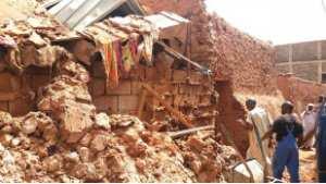 Intempéries à In Salah: Maisons effondrées et une dizaine de familles sinistrées