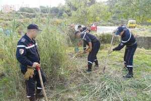 Tizi Ouzou - POUR LES EFFORTS CONSENTIS DANS L'EXTINCTION DES INCENDIES: La population des Ouadhias honore les sapeurs-pompiers