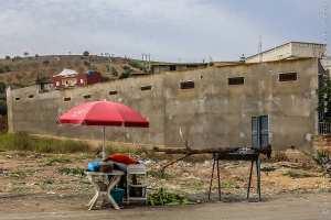 Vendeur de maïs grillé à Bab El assa