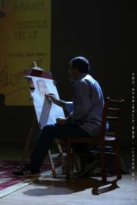 Peintre au forum sur Mouloud Mammeri et son apport à la révolution samedi à Tlemcen