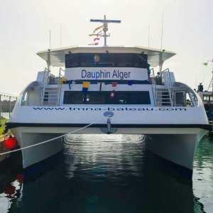 Bateau Restaurant '' Le Dauphin '' Alger Port d'El Djamila - La Madrague