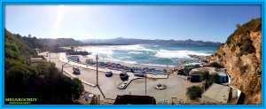 Panoramique Plage Ben Zouite-kerkera