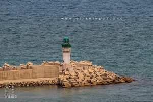 Le nouveau phare de Port Say (Marsa Ben Mhidi)