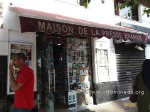 Maison de la presse Braham près de la grande posqte d'Alger