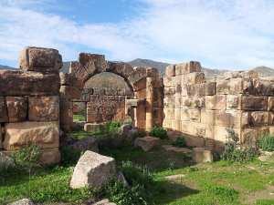 Ruines romaines de Ksar El Kaoua (Ammi Moussa. Algérie)