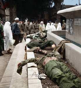 la bataille de miliana le 15 octobre 1957