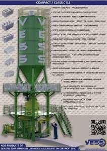 Machine De Fabrication de Parpaing Pavé Bordure Hourdis Agglos