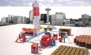 Prs 802 Semi Automatique : Machine de Fabrique de Pavé, Machine de Fabrique de Hourdis, Machine de Fabrique de Agglos