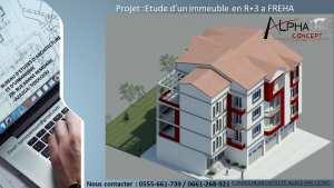 Etude d'un immeuble en R 3