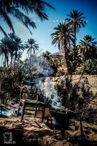 Un Barbecue dans la palmeraie de Moghrar