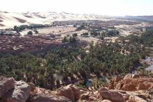 Oued Zousfana passant par Taghit