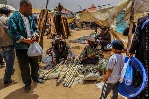 Vendeurs ambulants de khizrana 'cannes et batons) - Waada Sidi khlifa, El kheither 2017