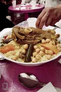 Couscous - Mawlid Ennabaoui à Tlemcen (Zaouia Bekhti, Rbat)