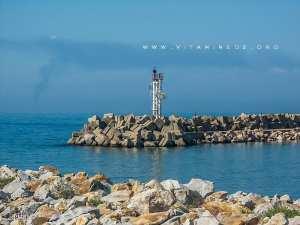 Balise au port d'El Marsa - Wilaya de Skikda
