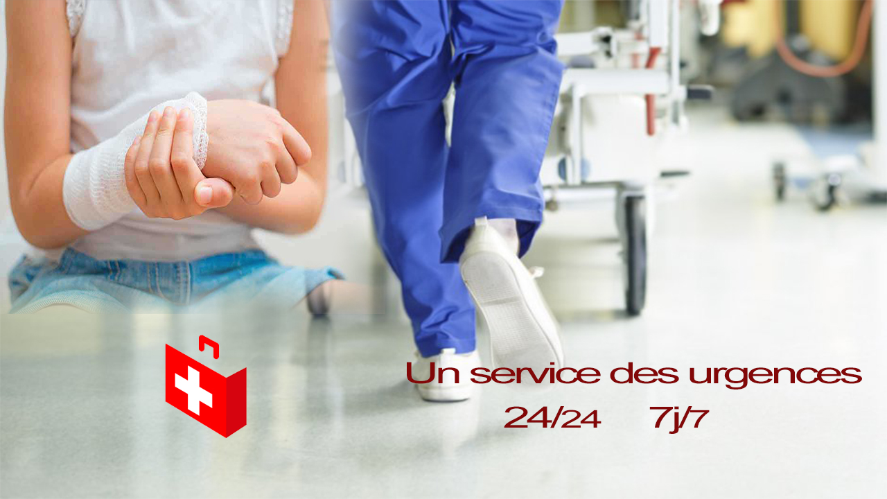 Le service des urgences de l'EHP d'Oran du docteur Ali Boukhatmi dont sera doté le furur etablissement de santé du sud-ouest algérien