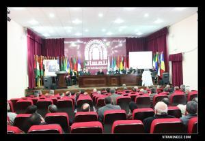 ندوة صحفية بتلمسان لأعضاء مكتب التنسيق لتلمسان عاصمة الثقافة الإسلامية 2011