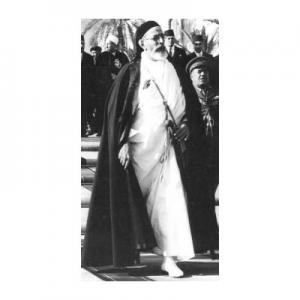 الملك ادريس بن المهدي السنوسي