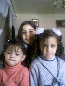 Lina, Faiza et Nesrine, filles de Tibar CHIBANI