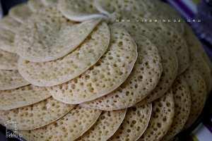 Beghrir au miel de Tlemcen