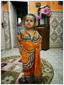 Ma petite fille Zineb Mokrani