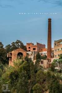 Four et cheminée de Béni Saf : Vestiges de la mine de fer