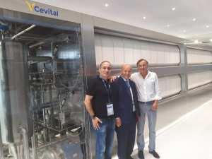 La station EvCon de production d'eau ultra pure