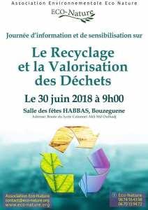 journée d'information sensibilisation sur « le recyclage et la valorisation des déchets »