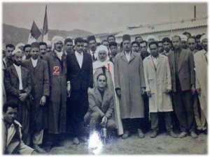 اعادة دفن جثمان القائد عبدالمجيد عبدالصمد رحمة الله عليه بقبرة الشهداء بيابوس .