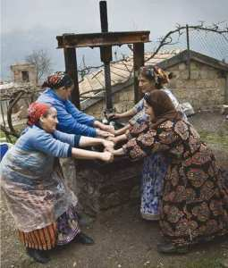 femme algérienne (kabyle)