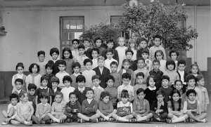 1971 - CP1 - école jeanne d'arc