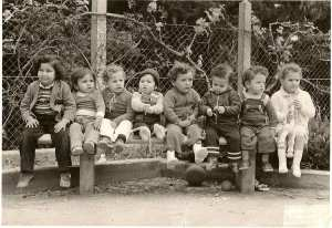 1980 - PREMIERE ANNEE - Ecole des oliviers