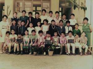 1985 - Sixieme - Ecole des oliviers