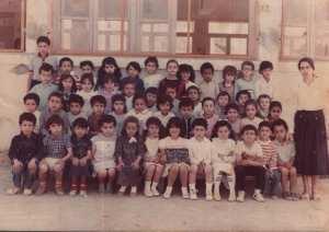 1986 - A1 - école primaire rabia à sidi ahmed
