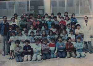 1988 - 3 eme année - école primaire rabia à sidi ahmed