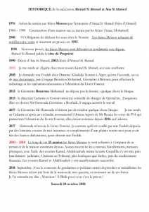 42 Ans Historique d'un heritage