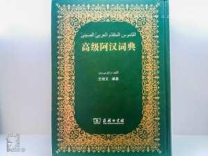 القاموس المتقدم العربي الصيني تأليف وانغ بي وين